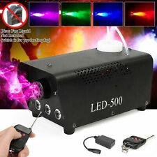 7 farben Nebelmaschine LED Party Fog Rauchmaschine Fogger Dunstnebel Effekt