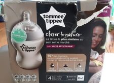 Tommee Tippee Closer to Nature Bottles 9 Ounce 4 Count [MR110-TMP4]