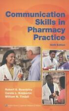 Communication Skills in Pharmacy Practice : A Practical Guide for Students and …