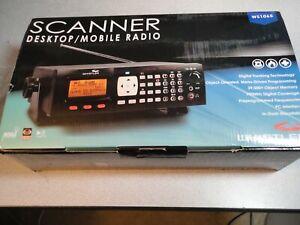 Whistler WS1065 Desktop Digital Scanner, VERY LITTLE USE