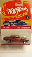 Hot Wheels Classics special paint Ford Thunderbolt  # B-40   NEW IN PACKAGE