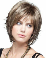 NEW144  new style short brown mix blonde fashion hair  wigs for women wig