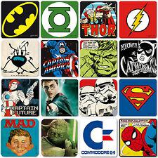 Untersetzer Coaster Bierdeckel StarWars Motiv Comic Marvel DC Superhelden Potter