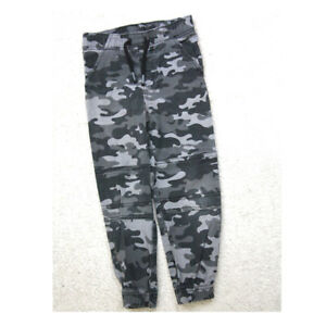Camouflage Dress Pants Boys Size Five 5 Green Gray Cotton Spandex Garanimals J21