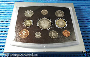 2000 United Kingdom Proof Coin Set (Coins for the New Millennium)