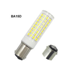 2pcs BA15D Double Contact Bayonet LED bulb 102-2835 Ceramics Light 110V White H