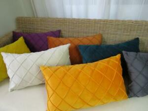 30X50  Velvet Large Diamond Rectangle Home Decor Pillow Case Cushion Cover