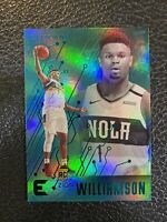2019-20 Panini Chronicles Essentials GREEN ZION WILLIAMSON ROOKIE SP #210 RC