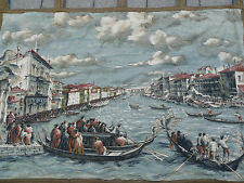 beautiful ,old wall hanging__Wandteppich__Venedig__115cm x 78cm
