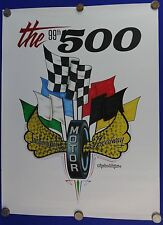 2015 Indianapolis 500 Event Collector Poster Juan Pablo Montoya Troy Lee Designs