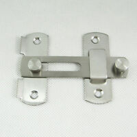 Shed Door Lock Bolt Catch Latch Slide For Bathroom Toilet Bedroom 3 Different si