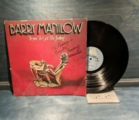 "BARRY MANILOW Autographed ""Trying to Get the Feeling"" LP Album"