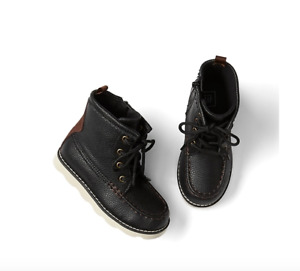 BABY GAP Leather hiker boots sneakers shoes nwt 6 7  N5