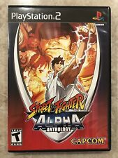 Street Fighter Alpha Anthology ( Sony Playstation 2 ),PS2, Complete