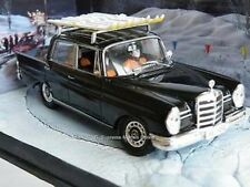 MERCEDES BENZ MODEL CAR 220S 1/43RD SIZE CLASSIC TYPE SKI'S ON ROOF Y0675J^*^