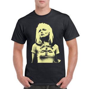 Debbie Harry T-Shirt Mens Deborah Harry Blondie pop icon T-shirt Birthday Gift