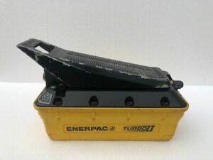 ENERPAC PATG1102N TURBO 2 AIR DRIVEN HYDRAULIC FOOT PUMP 700 BAR/10,000 PSI #2