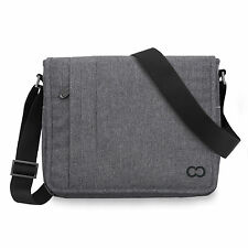 CaseCrown Campus Messenger Bag 12 Inch Macbook - Charcoal Grey