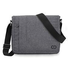 CaseCrown Campus Messenger Bag 12 Inch Macbook - Charcoal Grey