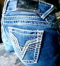 Vigoss Premium 9/10 32/33 jeans pants miss STUD STRETCH Me BOOT/CUT skinny slim