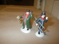 Heritage Village Collection - Town Crier and Chimney Sweep