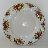 Royal Albert Old Country Roses Dinner Plate Bone China Fluted