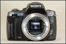 Sony Alpha DSLR-A330 10.2 MP Digital SLR Camera (No Lens) - Broken Steadyshot