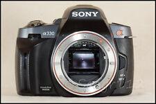 Sony Alpha DSLR-A330 10.2 MP Digital SLR Camera (No Lens) - Broken Steadyshot