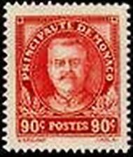 """MONACO STAMP TIMBRE N° 117 """" PRINCE LOUIS II 90c ROUGE """"  NEUF xx LUXE"""