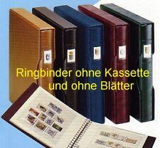 LINDNER Ringbinder 1104, genarbte Oberfläche, weinrot