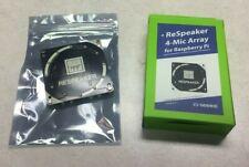 Four Seeed ReSpeaker 4-mic Arrays for Raspberry Pi