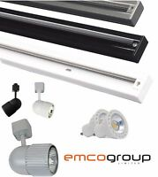 1M LED Modern Contemporary Kitchen Adjustable Ceiling Track Head Spot Light 240V
