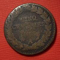 #1156 - Cinq centimes à identifier A Paris - FACTURE
