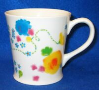 STARBUCKS 2006 Colorful Floral Spring Flowers Ceramic Mug