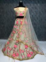 Lengha Choli Indian Party Wear Lehenga Lengha Choli Pakistani Wedding Saree RC