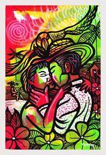 Original Art Arte Canvas 5 Paintings Cuban Artist Cuba LEONARDO RUBIO BRIDON