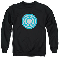 GREEN LANTERN BLUE SYMBOL Licensed Adult Pullover Crewneck SweatshirtSM-3XL