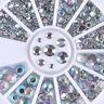 Glitter Crystal Rhinestone Gems 3D Nail Art Decoration Multi Shape Opal Marquise