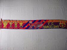 d1 sciarpa BARCELONA FC football club calcio scarf bufanda echarpe spagna spain