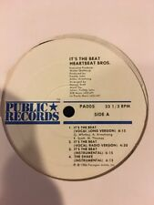 Heartbeat Bros. - Its The Beat / The Shake 12""