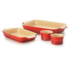 Chasseur La Cuisson Red Baker Set 4pc