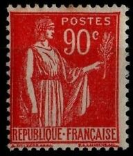1 Type PAIX 90c rouge, Neuf * = Cote 42 € / Lot Timbre France n°285