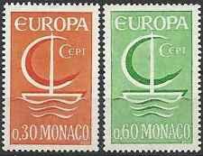 Timbres Europa Monaco 698/9 ** lot 20363