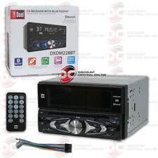 DUAL DXDM228BT DOUBLE DIN CAR MP3 CD USB AUX-IN AM FM STEREO WITH BLUETOOTH