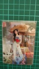 Twice - Taste of Love - Alcohol Free - Jihyo Lenticular Photocard Card