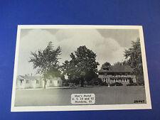 Mac's Motel Mendota,Illinois Vintage Colorful Postcard Pc14