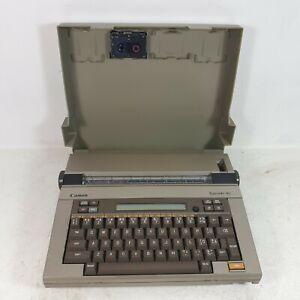 Vintage 90s Canon Typestar 90.  Electronic typewriter with ink cartridges.