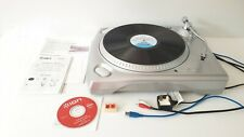 ION iTTUSB Turntable transfer records to PC or CD