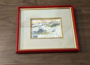 Toshikazu Kawanishi Ryoanji Temple Picture letter With frame