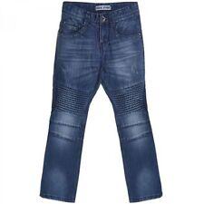 Mädchen-Jeans mit geradem Bein in Größe 128 aus 100% Baumwolle